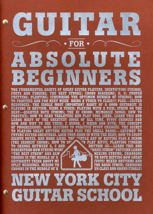 New York City Guitar School Download Free PDF Form - New