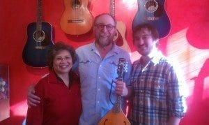 Phil with his wife and instructor Austin after the surprise