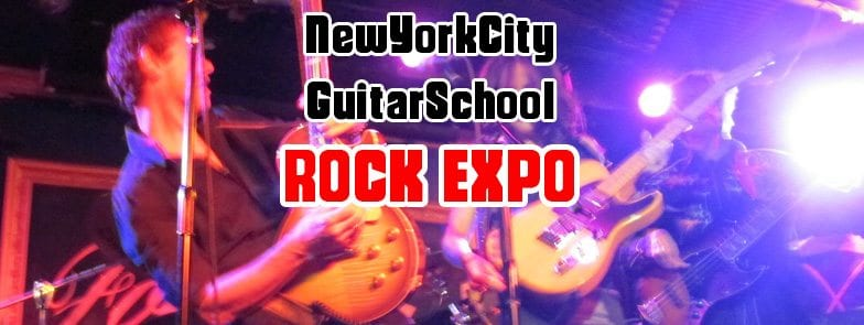 Rock Expo with effects workshop, beginners workshop, vocal workshop, jams for beginners and more!