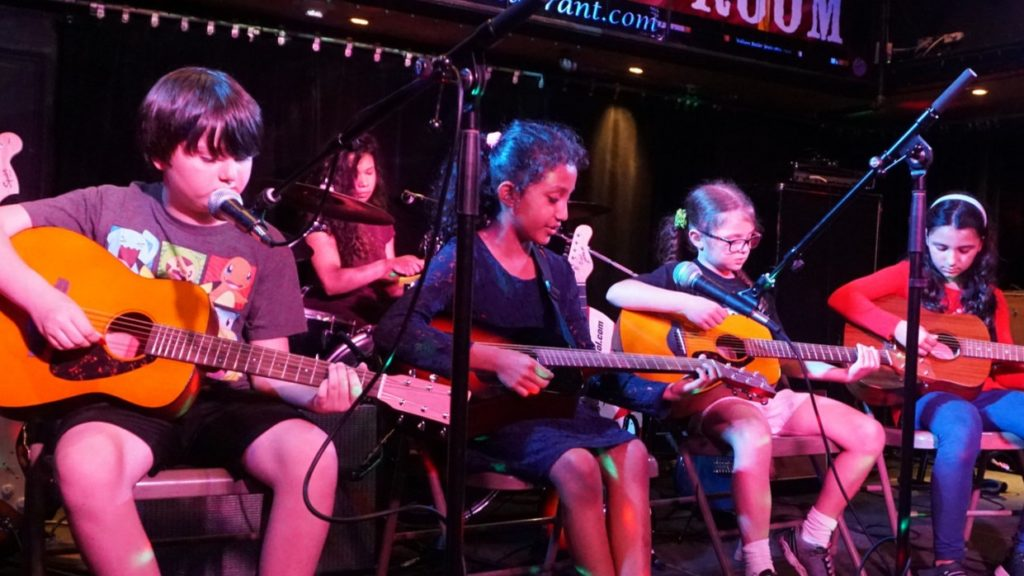 nyc guitar school classes for kids